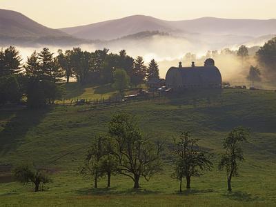 Farm, Giles County, Virginia, USA