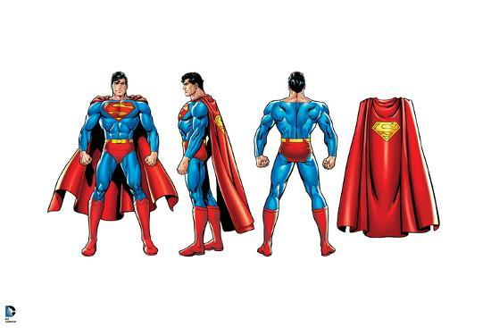 decorate your own superhero cape.htm justice league superman  front  side  and back view  and cape  justice league superman  front  side