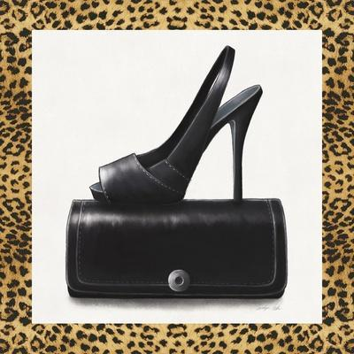 Black Shoe and Purse