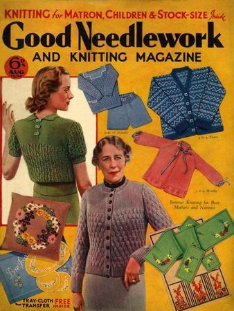 1930s UK Good Needlework and Knitting Magazine Cover