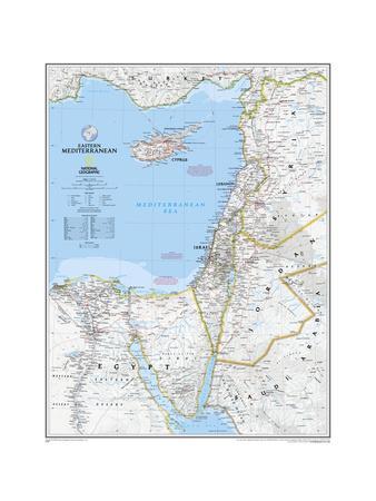 2008 Eastern Mediterranean Map