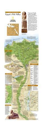 2005 Egypts Nile Valley North Map