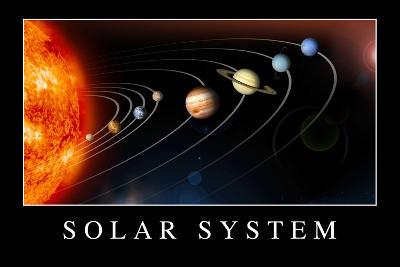 Solar System Poste