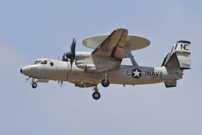 An E-2D Advanced Hawkeye of the U.S. Navy