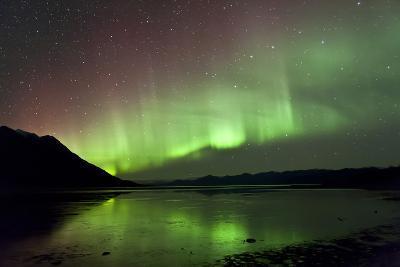 Aurora Borealis over Kluane Lake, Yukon, Canada