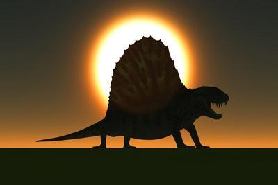 A Sail-Backed Dimetrodon from Earth's Permian Period of Time