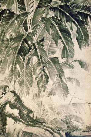 Palms Sumi on Paper