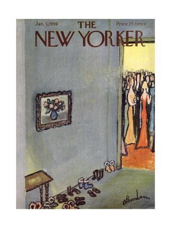 The New Yorker Cover - January 3, 1959