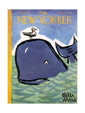 The New Yorker Cover - June 23, 1962