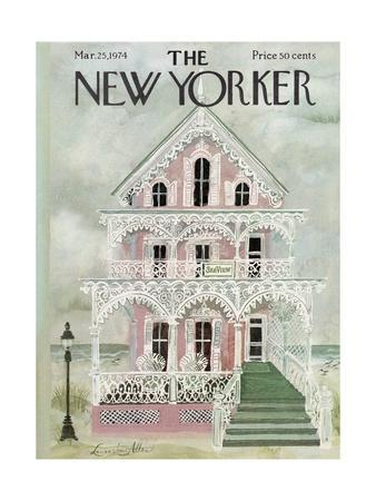 The New Yorker Cover - March 25, 1974
