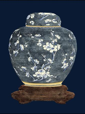 Blue and White Ginger Jar II