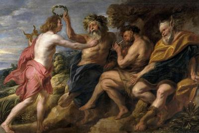 Apollo as a Winner About Pan, Ca. 1637