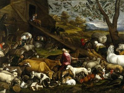 The Animals Entering the Arc, Ca. 1570