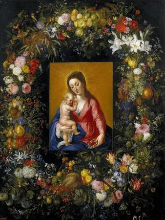 Garland with the Virgin and Child, Ca. 1621