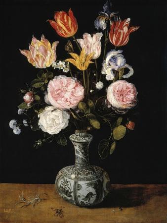 Vase of Flowers, 1609-1615