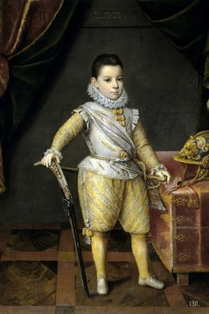 Philip Manuel of Savoy at 5 Years Old, 1591