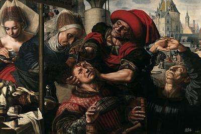 The Surgeon, 1550-1555