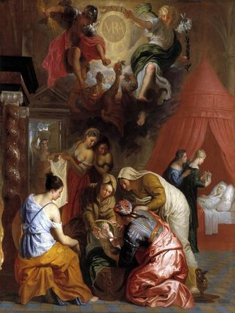 The Birth of the Virgin, 1650-1660