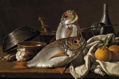Sea-Bream and Oranges, 1772