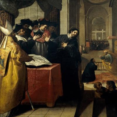 San Juan De Mata Renuncia Al Doctorado Y Lo Acepta Luego Por Inspiración Divina, 1634