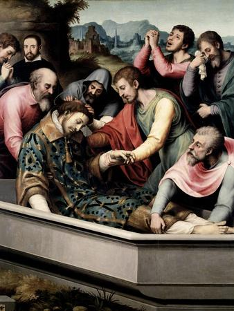 The Burial of Saint Steven, Ca. 1562