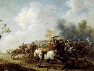 Choque De Caballería, 1649