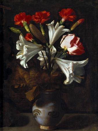 Vase of Flowers, 1635-1636