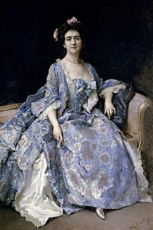 María Hahn, Painters Wife, 1901
