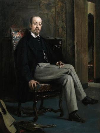 The Painter Benito Soriano Murillo, 1863-1867