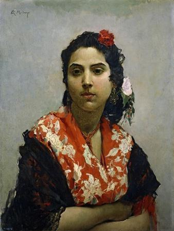 A Gypsy, 1872