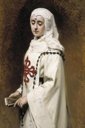 The Actress María Guerrero as `Doña Inés, 1891