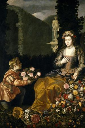 Offering to Flora, 1627