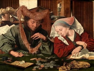 The Moneychanger and His Wife, 1539