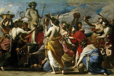 Sacrifice to Bacchus, Ca. 1634