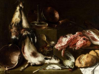 Bodegón De Cocina, Ca. 1664