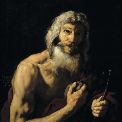 Penitent Saint Jerome, 1652