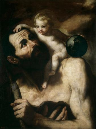 Saint Christopher, 1637