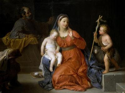 Holy Family with Saint John, Ca. 1723