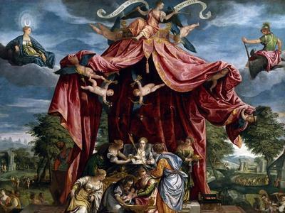 Allegory of the Birth of the Infante Fernando, Son of Felipe II, Ca. 1575