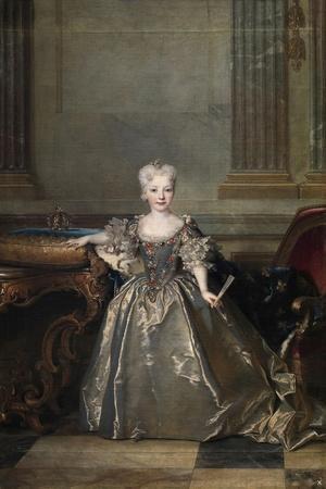 Portrait of Mariana Victoria of Spain , 1724