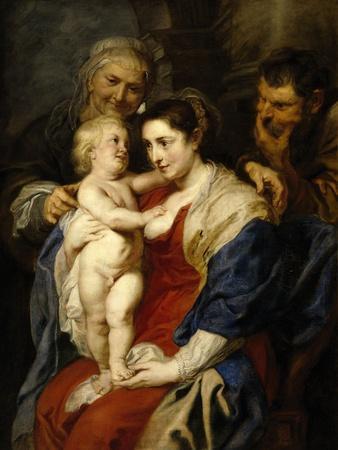 The Holy Family with Saint Ann, Ca. 1630