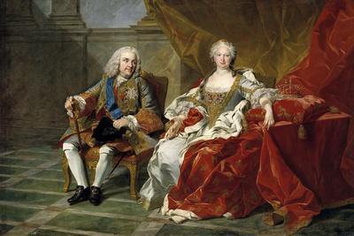 Philip V and Elisabeth Farnese, Ca. 1743