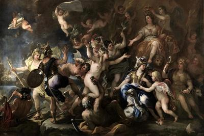 Allegory of the Annexation of Messina to Spain, 1678