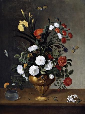 Flower Vase and Crystal Vessel, 1663