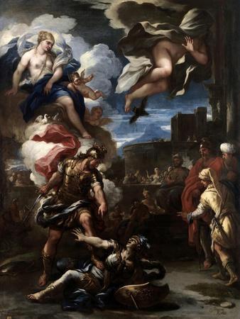 Turno Vencido Por Eneas, 1688