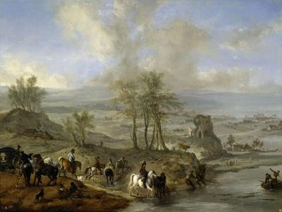 Hunting and Fishing Party, 1660-1662