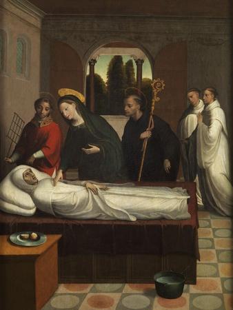 The Death of Saint Bernard, Ca. 1545