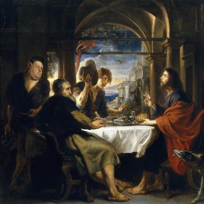 Emaus Dinner, 1635-1640