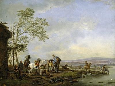 Stopping at the Inn, 1655-1658