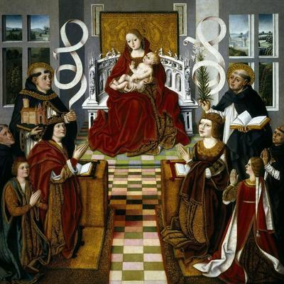 The Virgin of the Catholic Kings, 1491-1493